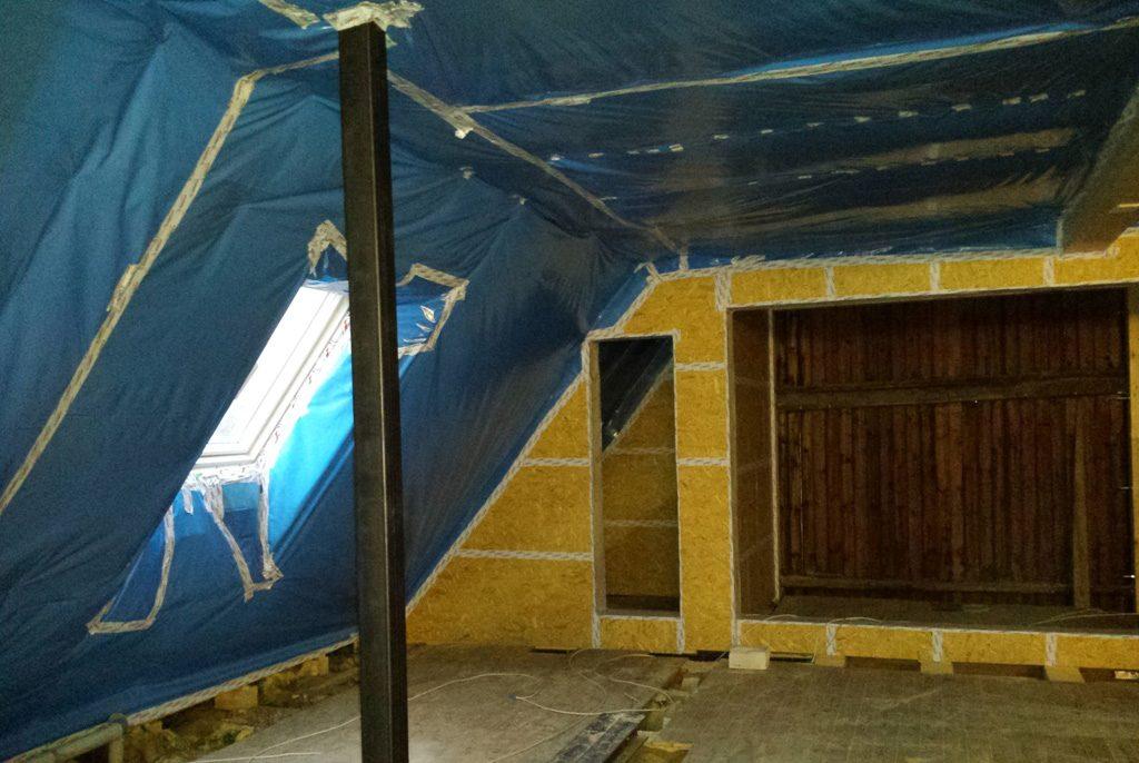 Dachdammung Abdichtung Eindichtung Holzbau Paderborn